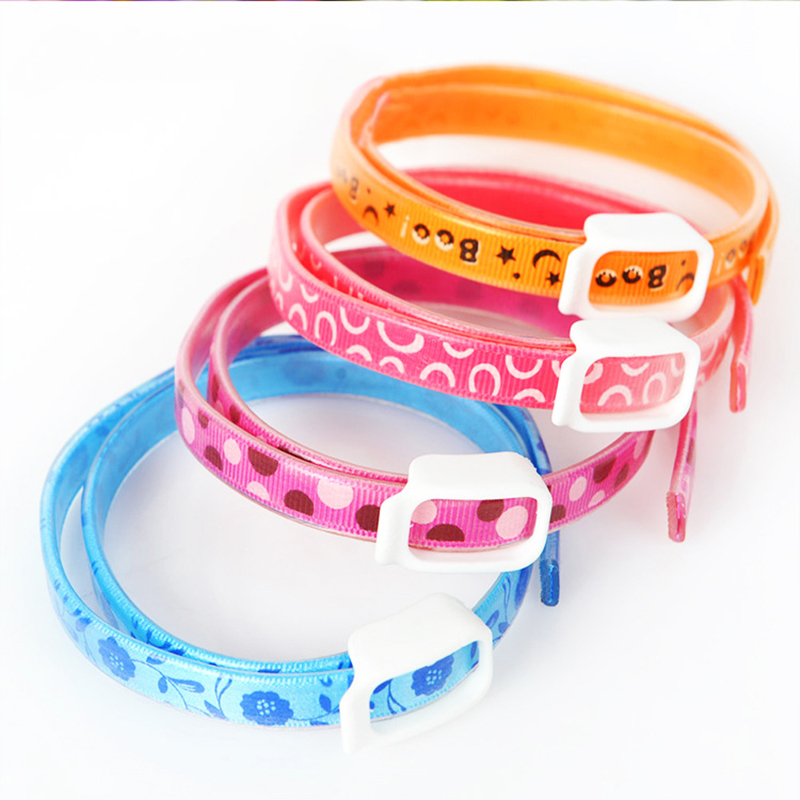 Insecticidal Anti Flea Pet Dogs Cat Collar Adjustable Anti-insect Mosquitoes Dog Ring Neck Straps Dog protection(China (Mainland))