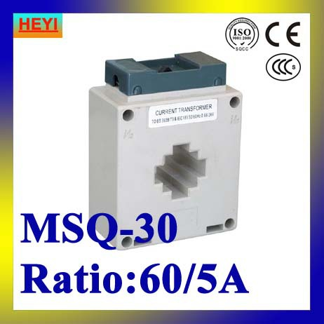 MSQ-30 60/5A MSQ current transformer high accuracy high quality low voltage current transformer(China (Mainland))