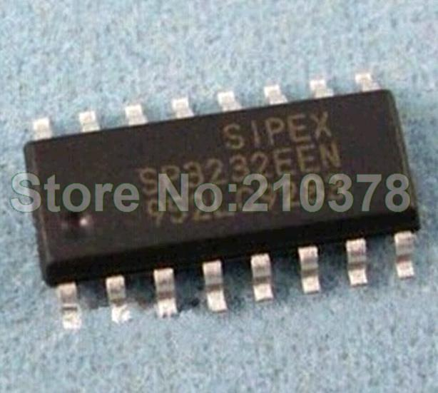Free Shipping SP3232ECN SOP16 commercial grade SP3232 RS-232 transceiver [ original authentic ](China (Mainland))