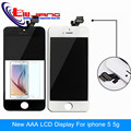 100 Guarantee A LCD Display for Iphone 5 5g Touch Screen Digitizer Assembly free shipping
