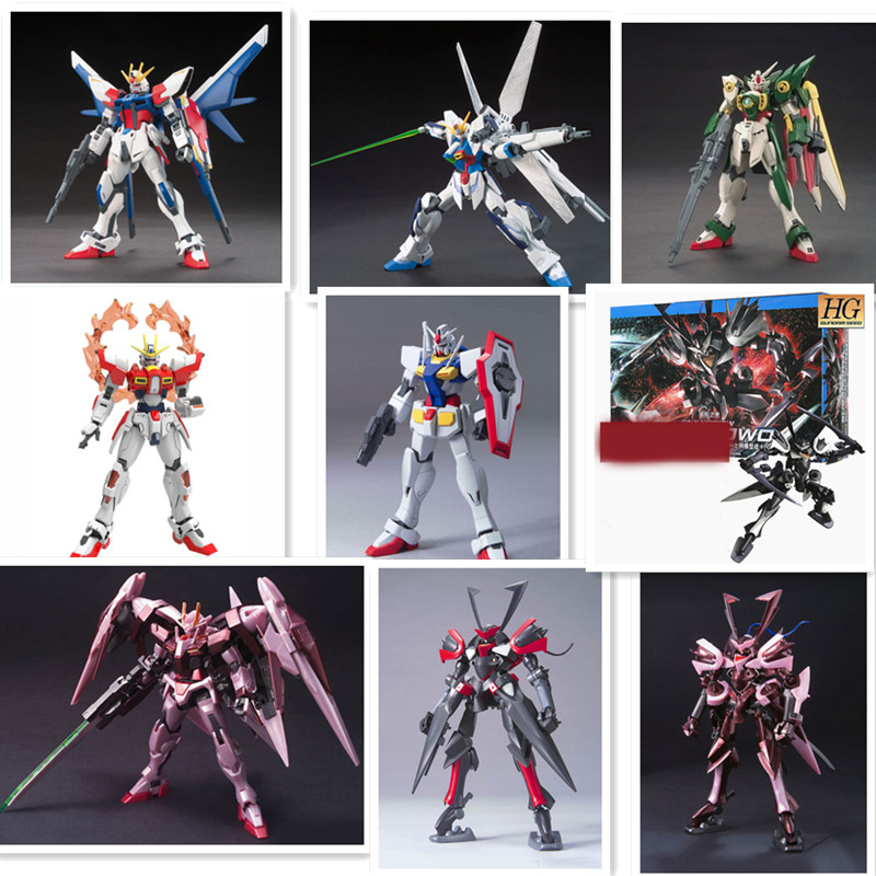 1:144HG Gundam Seven Swords fate cartoon Gundam 30CM model Robot child Puzzle assemble Action Figure boy toy Anime gaogao model(China (Mainland))