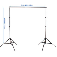 2*2m Professional heavy duty photo background Support System backdrop stand kit supports frame stand carry bag for photo studio