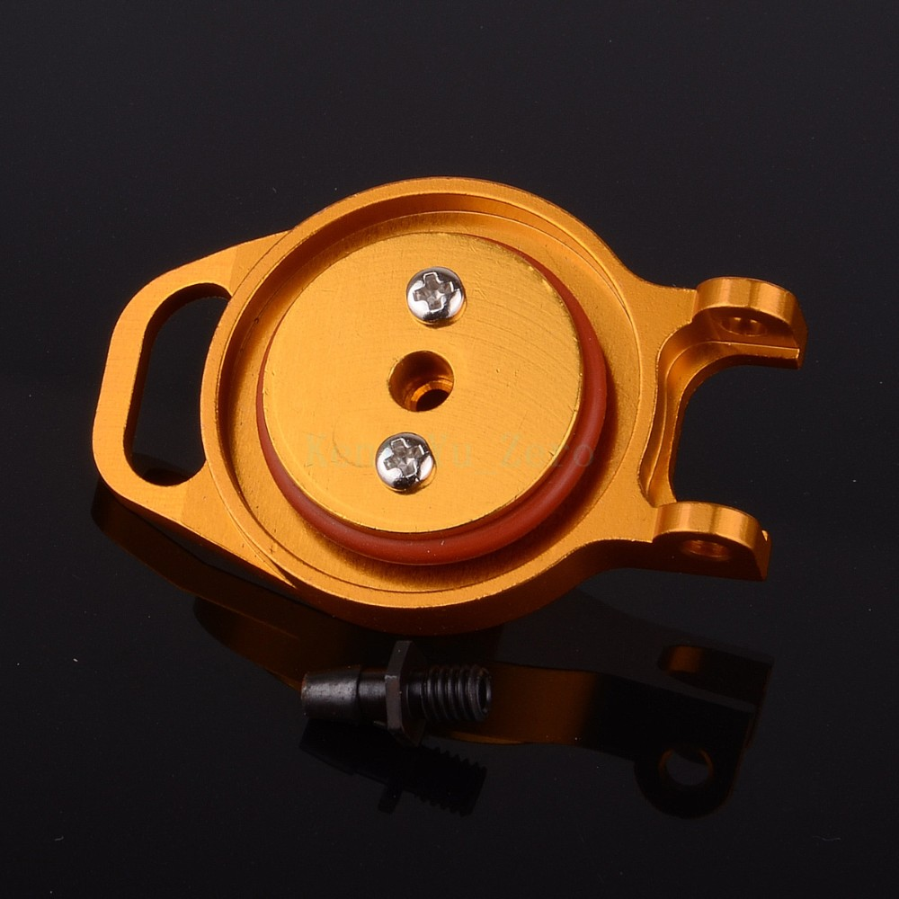 102059G HSP Fuel Tank Cover (AL) For RC 1/10 Model Car Upgrade Spare Parts,Golden