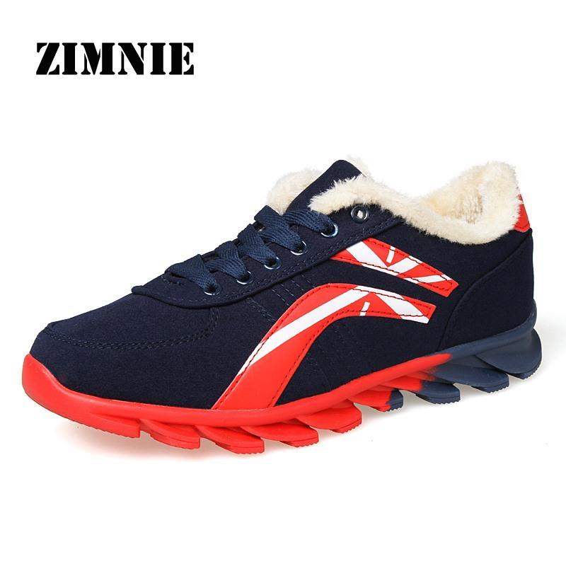 Shoes Men and Women Cotton Plus Fashion Winter Autumn Mens Shoes Breathable Mesh Women Walking Super Light Shoes Size 36-45