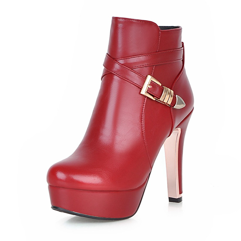 Red Boots Leather Promotion-Shop for Promotional Red Boots Leather