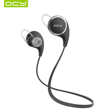 Original QCY QY8 Bluetooth Headphones Wireless Sport Bluetooth Earphones with Mic Noise Cancelling Headset English Voice Earbuds(China (Mainland))