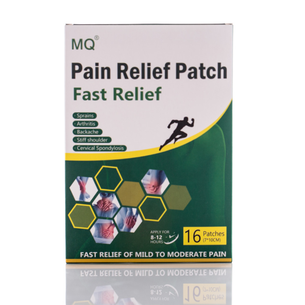 MQ 16pcs / Box Arthritis Back Pain Relief Patch Chinese Traditional Herbal Health Care Product Body Massage Pain Relief Patch(China (Mainland))