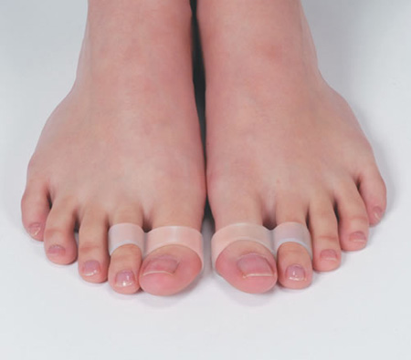 6 Pcs Emagrecimento Perder Peso Anel Do Dedo Magnético Moda Feminina Pé cuidados Ferramenta de Massagem Nos Pés de Silicone Manter A Forma Do Produto para As Mulheres C545