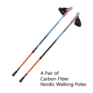 a pair arakan 50 carbon fiber nordic walking stick ski. Black Bedroom Furniture Sets. Home Design Ideas