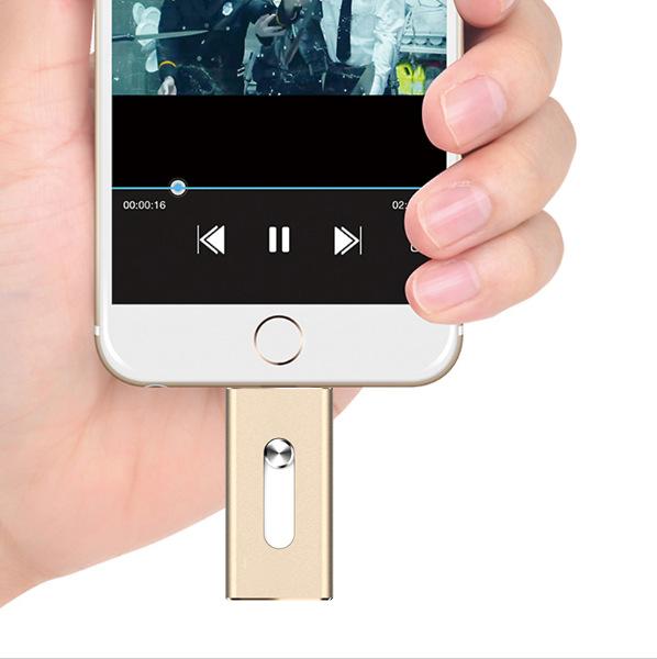 Full size flash drive 64gb 32gb 16gb  8gb  Micro Usb Lightning/Otg Usb Flash Drive For iPhone 6 5 5s 5c iPod iPad Pendrive(China (Mainland))