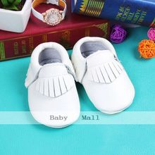 New 23 colors quality genuine leather baby shoes moccasins shoes for girls and boys first walkers