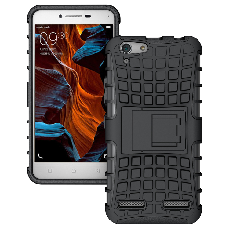 Case For Lenovo Vibe K5 / K5 Plus Lemon 3 K32C36 Heavy Duty Phone Cover Hybrid Shockproof Hard Armor Rugged Rubber Stand Coque(China (Mainland))
