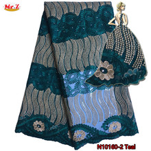 Buy Mr.Z Latest African Lace Fabric 2017 African French Lace High Embroidery African Tulle Lace Fabric Women Party for $44.40 in AliExpress store