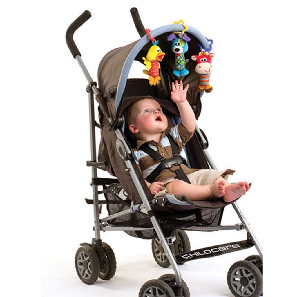 Подвеска для коляски своими руками