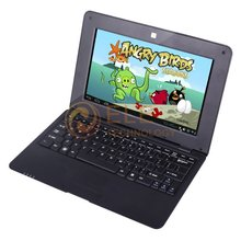 Hot Selling 10.1 inch android 4.0 laptop VIA8850 1.2Ghz 512M 4GB HDMI Camera WIFI RJ45 Free Shipping(China (Mainland))