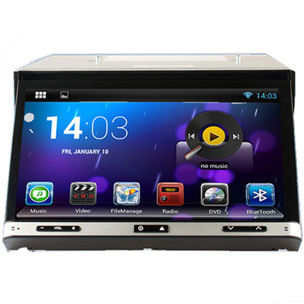 1024*600 2DIN 1024*600 Android 4.4.4 Universal Car Radio DVD+GPS+RDS+Bluetooth+A2DP+Phone book+USB&SD+WiFi+AUX+Mirror Link(China (Mainland))