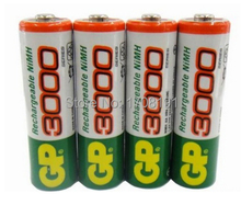 8pcs lot original GP aa rechargeable battery 3000mah gp 3000  rechargeable battery gp batteries 1