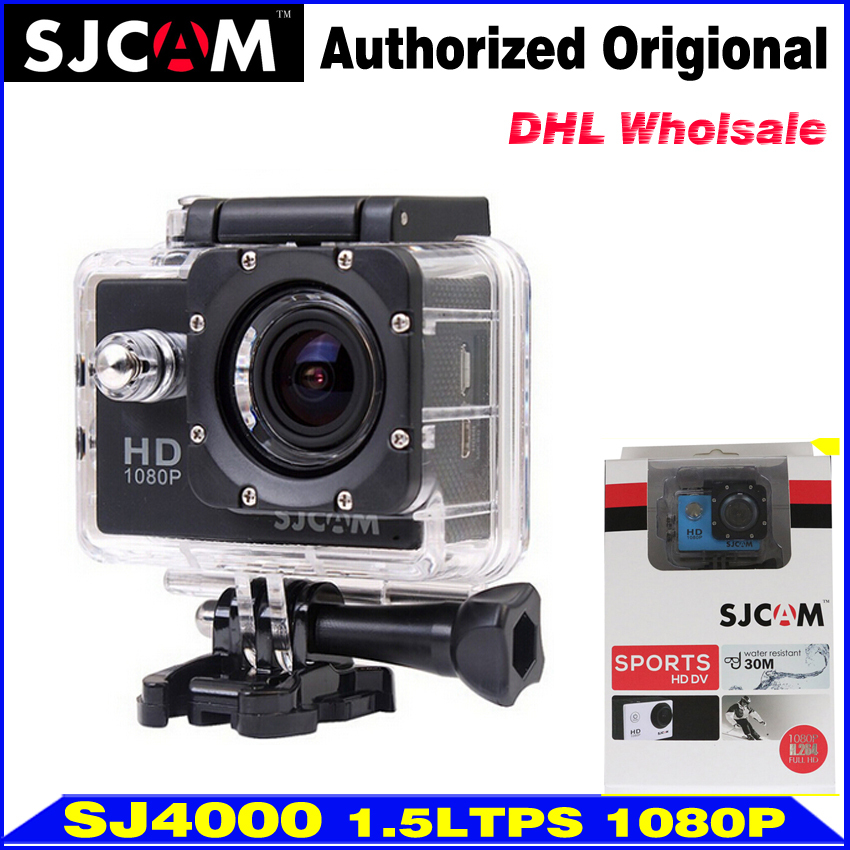 Wholesale 10pcs SJCAM SJ4000 SJ 4000 Waterproof Action Camera 1080P Full HD Sport DV Camcorder DVR