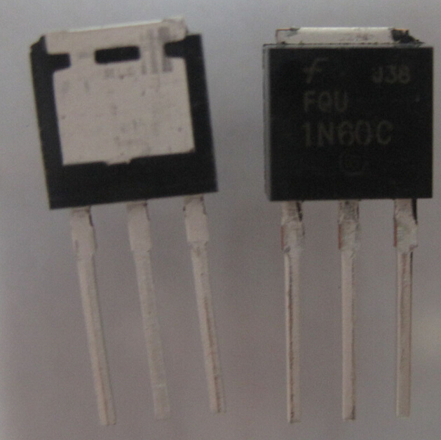 10pcs/lot FQU1N60C 1N60C to-251 transistor electronics ic in stock with tracking number(China (Mainland))