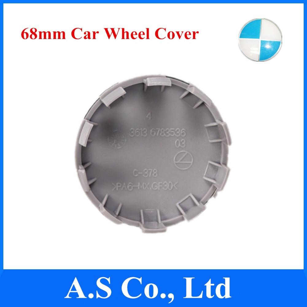 Blue & White 68mm Auto Car Wheel Cover Hub Center Caps Emblem OEM No. 36136783536 - A S Co., Lt store