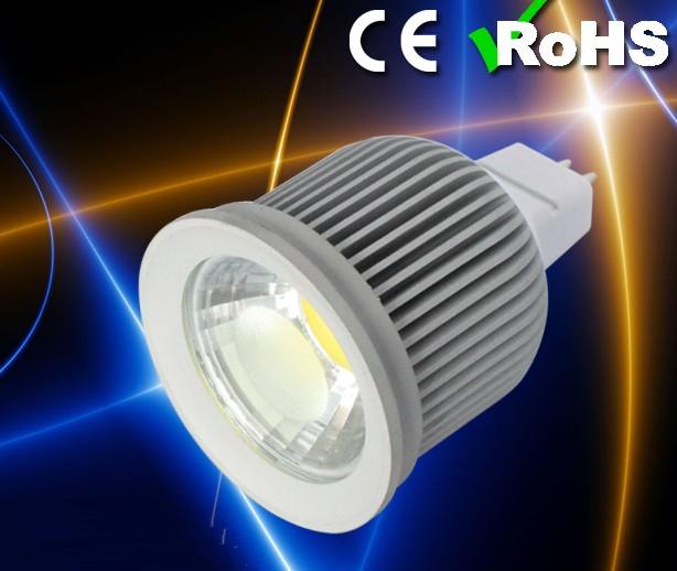 Free Shipping MR16 10W COB LED Spot Light Cool White/White/Warm White High Brightness Support LED Bulb light DC12V(China (Mainland))