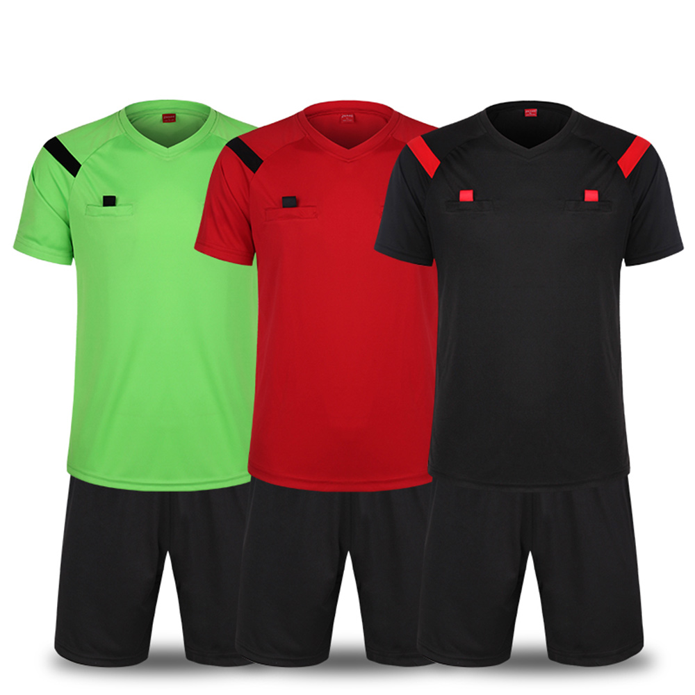 Hot Sale 2016 Soccer Referee Jersey Judge Uniform Professional Soccer Referee Clothing Football Referee Jersey Free Shipping(China (Mainland))