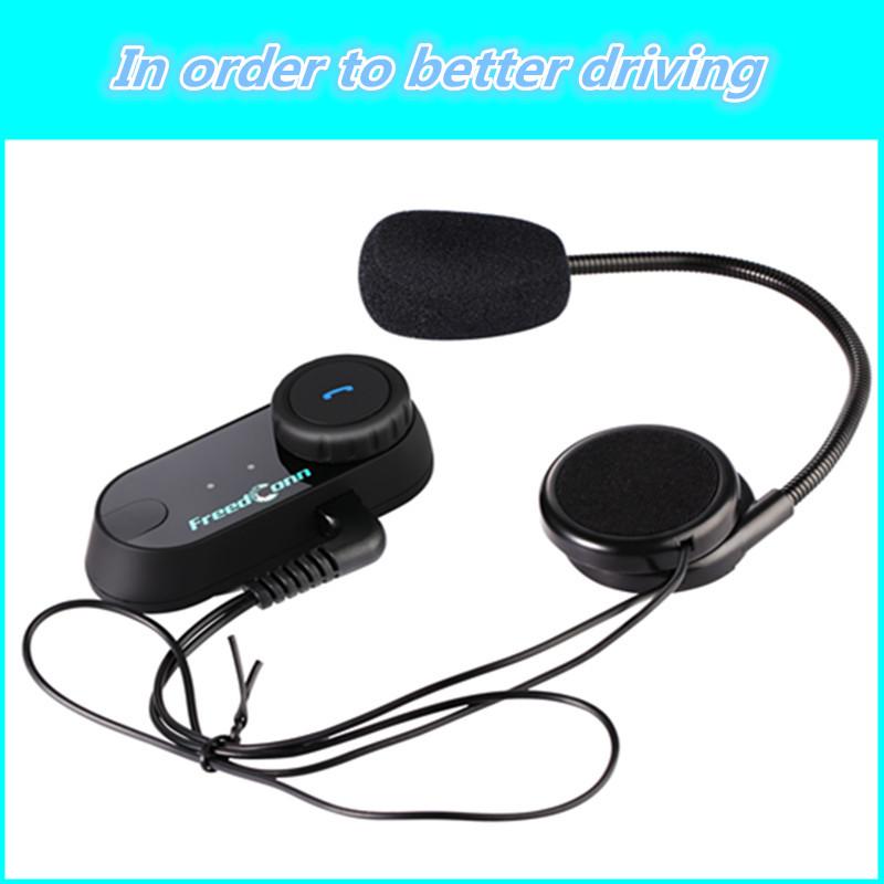 Safety motorcycle intercom bluetooth Helmet headset 2 pcs or 1 pcs interphone walkie talkie With FM Radio(China (Mainland))