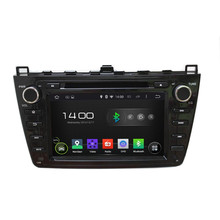 A9 HD1024*600 QuadCore 16GB Android 5.1.1 Car DVD Player Radio GPS Navi Stereo for MAZDA 6 Ruiyi Ultra 2008 2009 2010 2011 2012