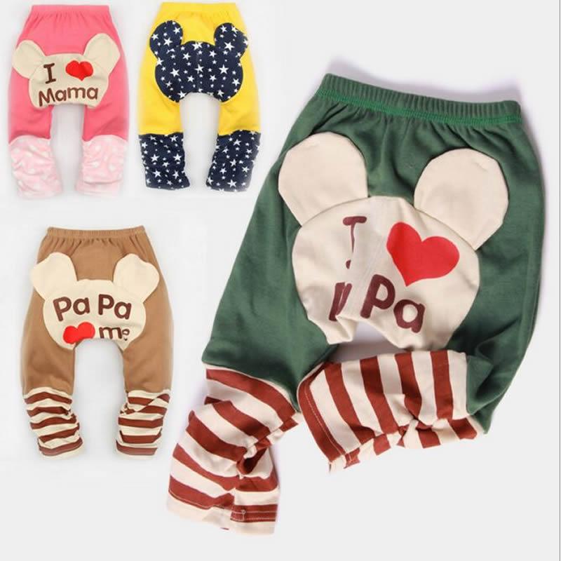 Baby Pants Boys girls cartoon pp pants Leggings PP harem Pants busha Cotton Trousers Leg Warmers Spring and autumn(China (Mainland))