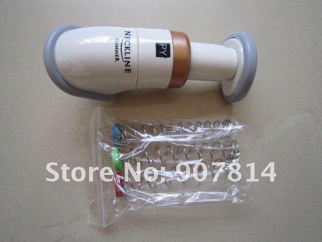 EMS Free Shipping Portable Neckline Slimmer Neck Exerciser Chin Massager 48 pcs/lot(China (Mainland))