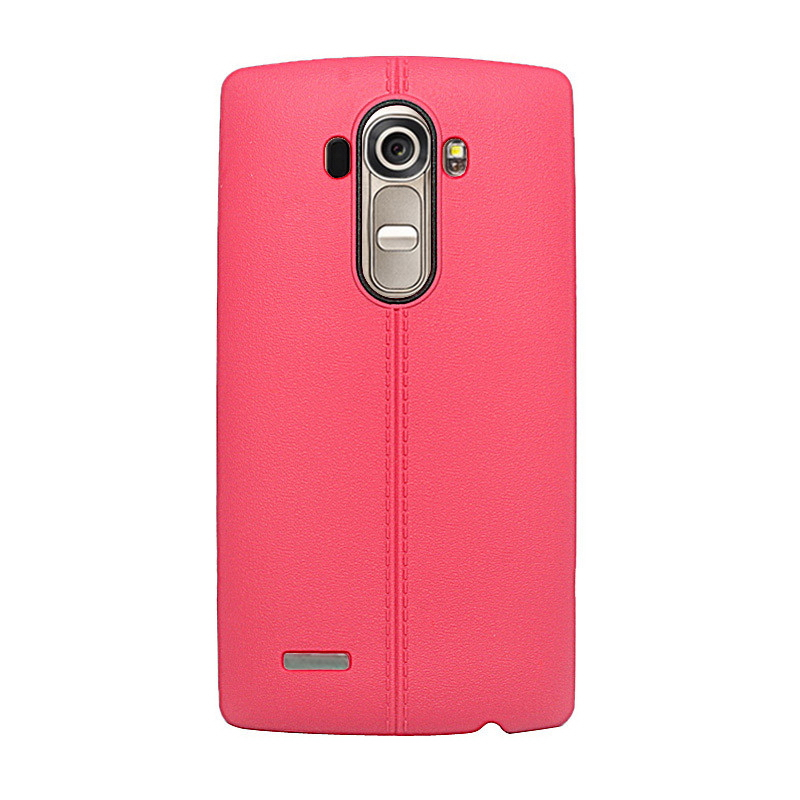 New Ultra Thin Back Slim Rubber Double line Colorful Silicone Skin Protective Gel Soft TPU Case Cover For LG G4(China (Mainland))