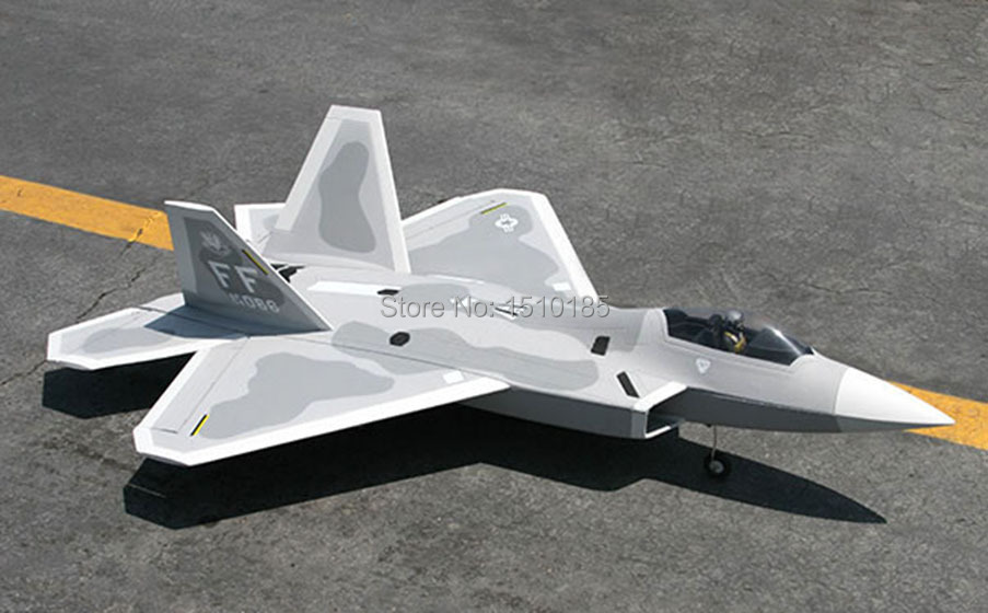 Lanxiang High Scale F22 Raptor RTF RC Airplane Model 50A ESC 70mm EDF(China (Mainland))