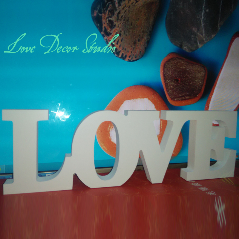 free shipping pvc standing love letters sign plaque decoration gift wedding decoration letters. Black Bedroom Furniture Sets. Home Design Ideas
