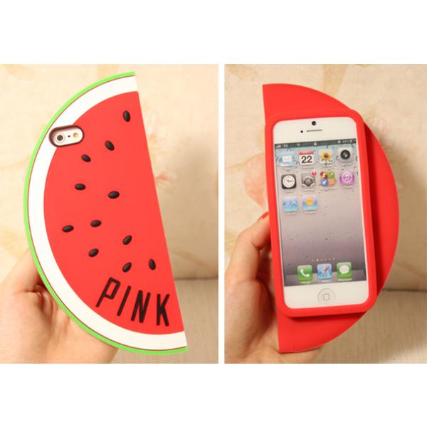 Funny Cute Victoria pink secret watermelon Silicon Protective Phone ...