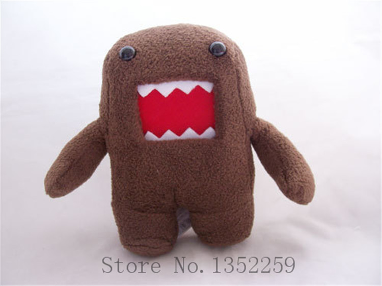 Plush toys Domo kun stuffed animal toys soft Dolls(China (Mainland))