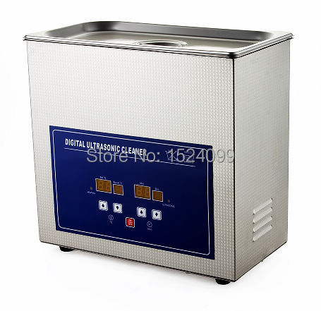 Digital ultrasonic cleaner 4.5L stainless steel Ultrasonic cleaning machine Jewelry cleaner Dvd cd cleaner Record cleaning tools(China (Mainland))
