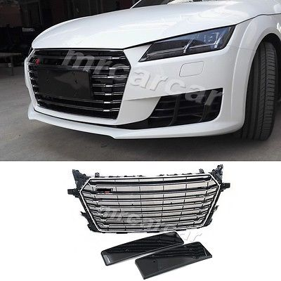 TTS Style Chrome Black Grill Air Intake Front Grille Fit for Audi TT MK3 8S 2015<br><br>Aliexpress