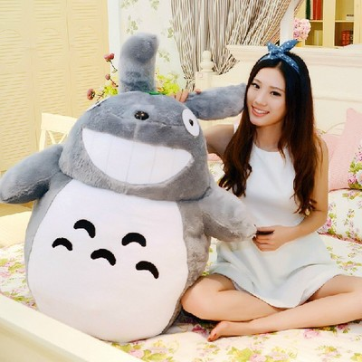 Здесь можно купить  anime 39 inch cartoon Totoro plush toy throw pillow doll w4112 anime 39 inch cartoon Totoro plush toy throw pillow doll w4112 Игрушки и Хобби