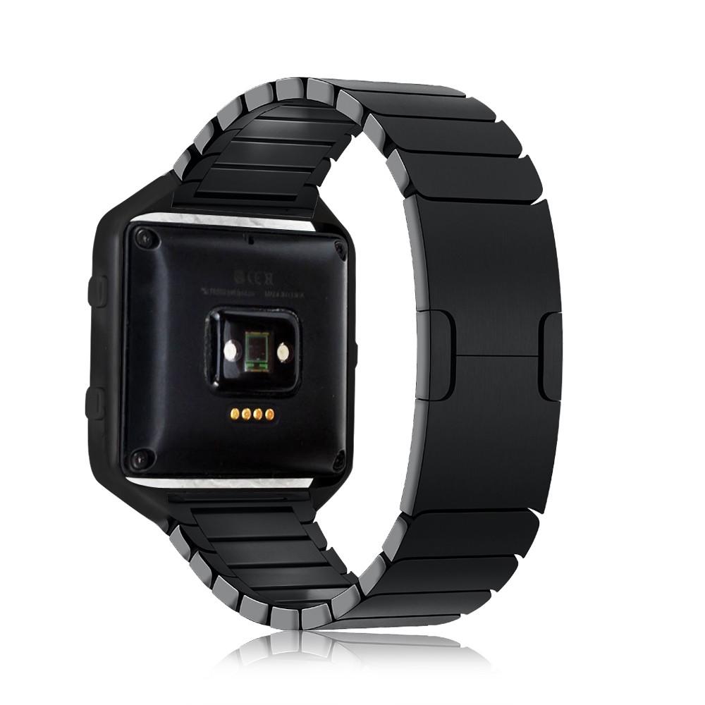Высокое Качество Роскошный Дизайн Часы Чехол Bumper Кадров + Stailess Стальной Браслет Ремешок Группа Для Fitbit Blaze