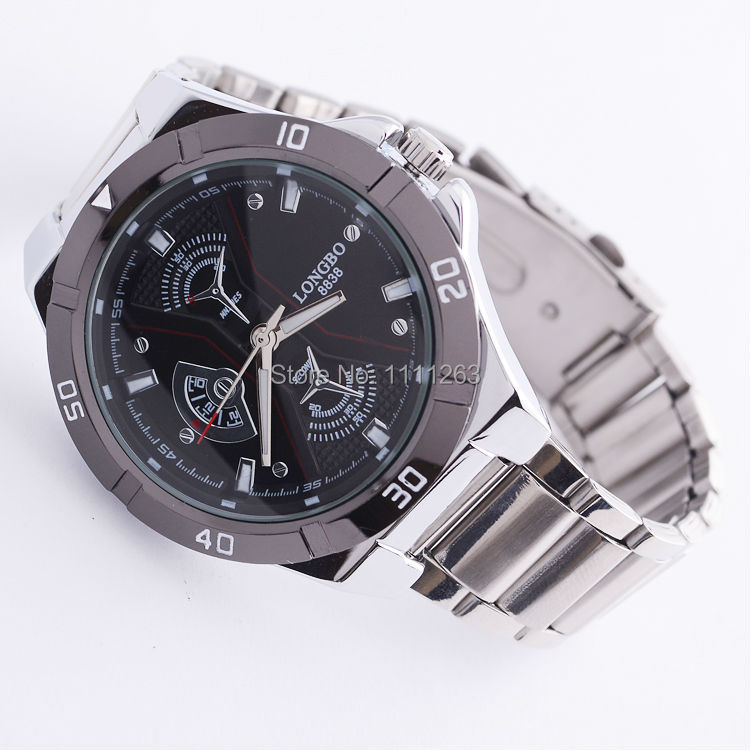 free shipping durable stainless steel China manufacture watch men's sport watches mode number 8838-009(China (Mainland))