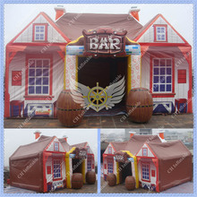 Hot Selling 30ft Inflatable Bar Tent Inflatable Pub for Events and Party(China (Mainland))