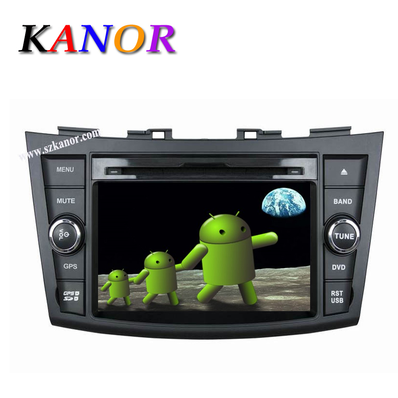 Pure Android 4.4 Suzuki Swift 2012 Car DVD Player GPS Radio With MIrrorlink,Capacitive Touchscreen,Bluetooth,USB,Ipod,WIFI,Map<br><br>Aliexpress