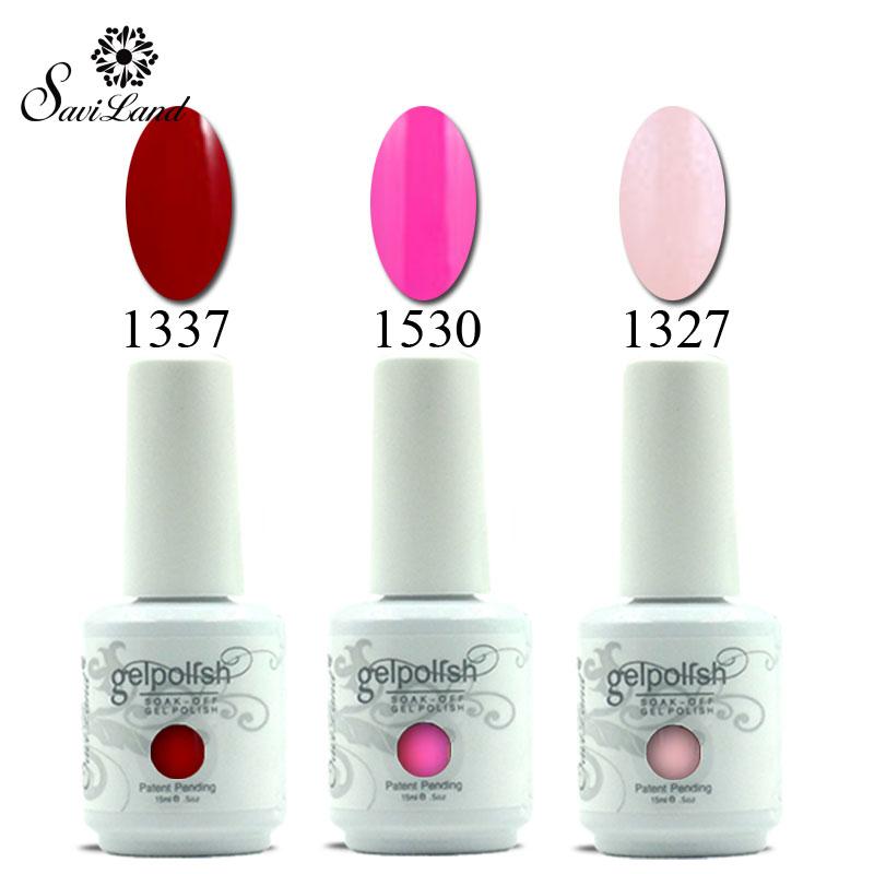 Saviland 1Pcs 15ml Colors Gelpolish French Manicure Nail Gel Polish Soak Off UV Gel Lacquer Nail Varnish Remover Nail Art(China (Mainland))