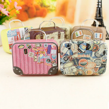 Hot Sale Home Organizer Mini Storage Bag Small Tin Candy Pill Jewelry Box Cartoon Cute Coin Boxes Christmas Gift Box For Kids(China (Mainland))