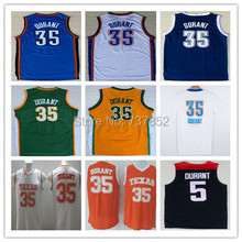Online Cheap #35 Kevin Durant Jersey, Wholesale Best Quality Kevin Durant Basketball Jerseys, Mix Order 17 Colors Free Shipping(China (Mainland))