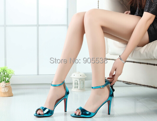 Eur:40-44 45 46 Hot selling red bottom T-stage Ultra high heels club CDTS sexy wedding pumps women fashion sandals single shoes - Drop shipping store