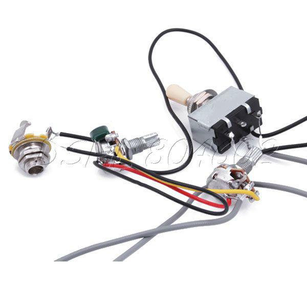 Aliexpress.com : Buy Guitar Wiring Harness 3Way Toggle ...