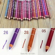 Women's Professional Lipliner Waterproof Lip Liner Pencil 15CM 23 Colors Hot 2016