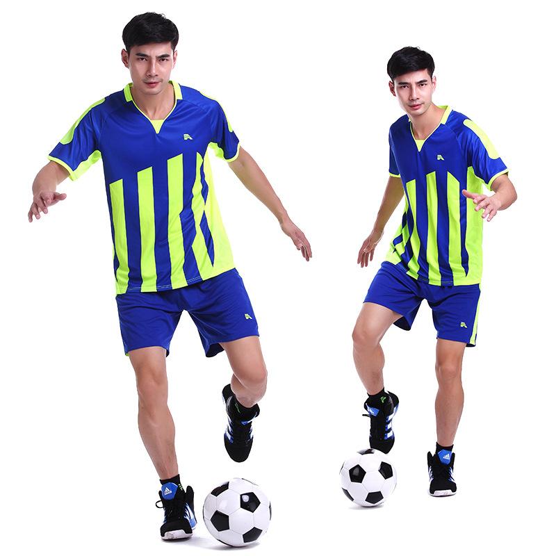 Instock Womens Mens Boys Football Jerseys Training Soccer Sets Anti-Shrink Football Jersey Sports Uniform Jersey Camisetas de Fu(China (Mainland))