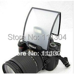 Universal Soft Screen Pop-Up Flash Diffuser For Nikon Canon Pentax Olympus(China (Mainland))